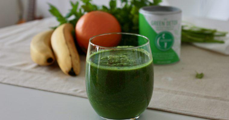 Mein Basic-Green-Smoothie-Rezept (hochbasisch)
