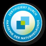Zertifiziert durch Akademie der Naturheilkunde