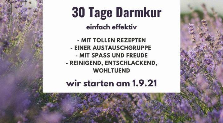 Darmkur 1.September 21